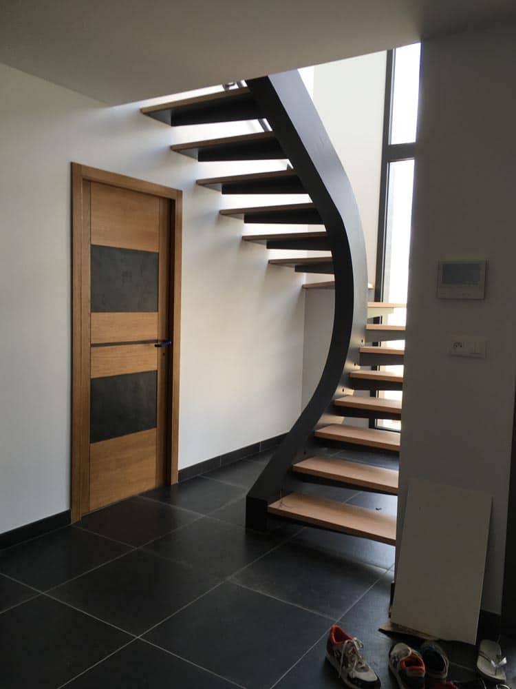 Escalier Et Rambarde Interieur Peinture Industrielle De L